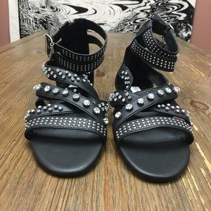 1da9a5c74e2 Steve Madden Shoes - NEW Steve Madden Strappy Jewel Gladiator Sandals